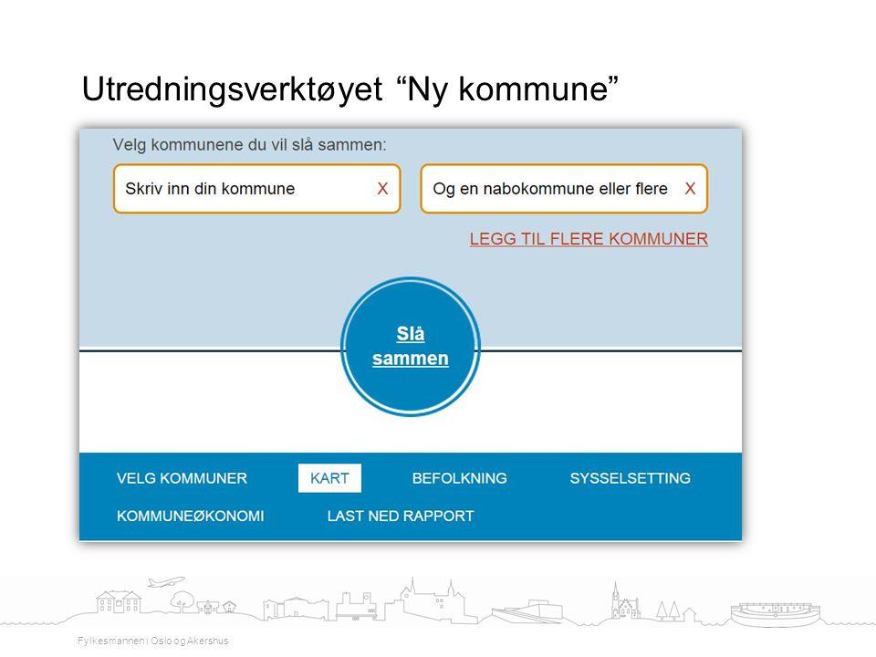 Utredningsverktøyet Ny kommune
