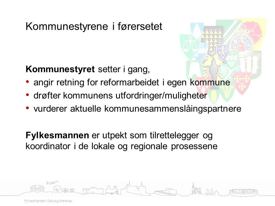 Kommunestyrene i førersetet