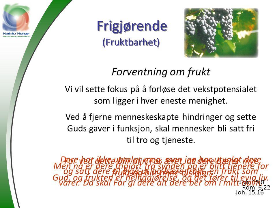Frigjørende Forventning om frukt (Fruktbarhet)