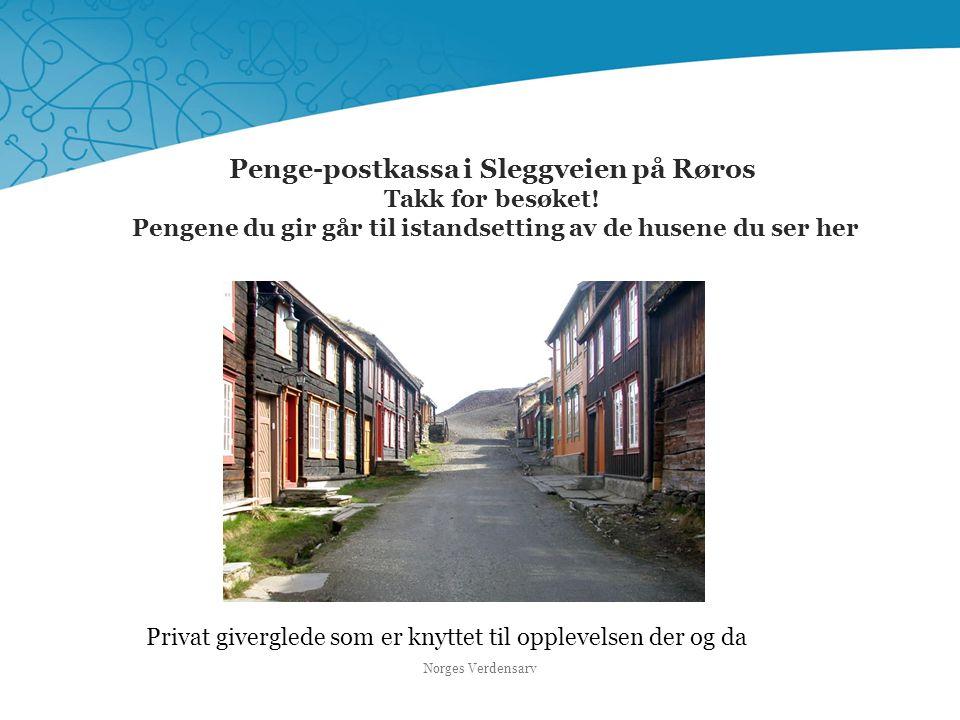 Penge-postkassa i Sleggveien på Røros Takk for besøket