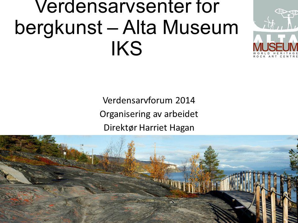 Verdensarvsenter for bergkunst – Alta Museum IKS