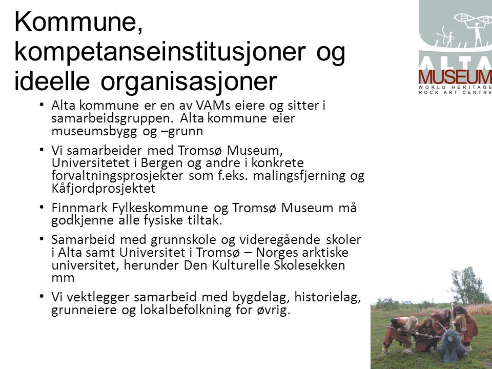 Kommune, kompetanseinstitusjoner og ideelle organisasjoner