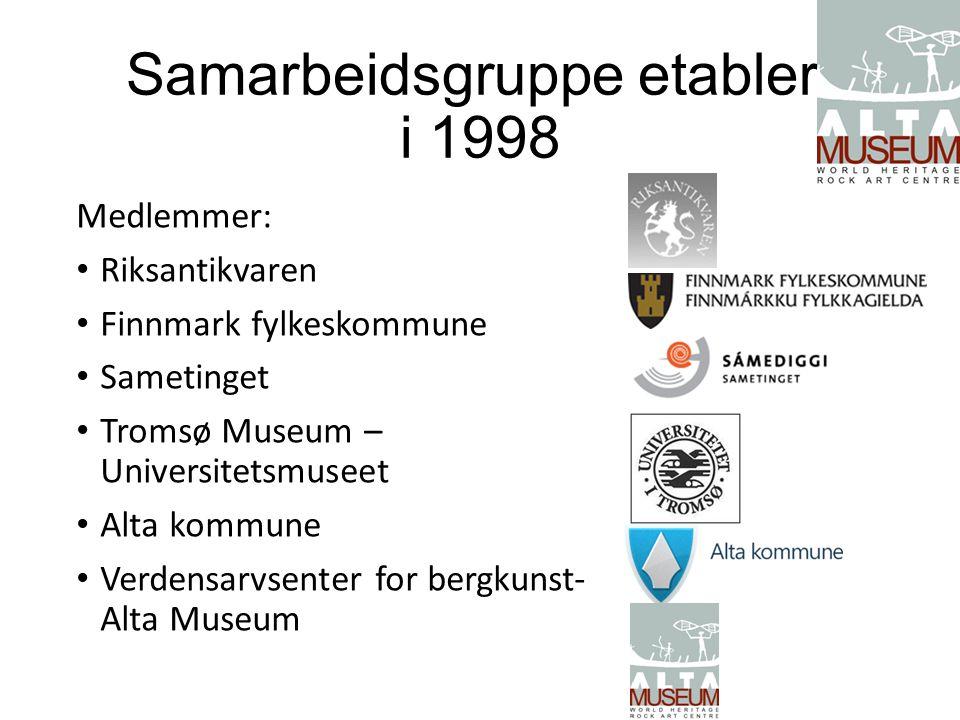 Samarbeidsgruppe etablert i 1998