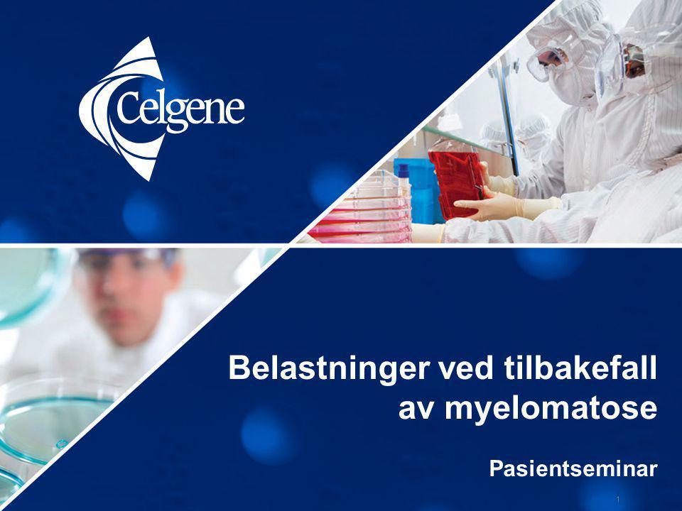 Belastninger ved tilbakefall av myelomatose