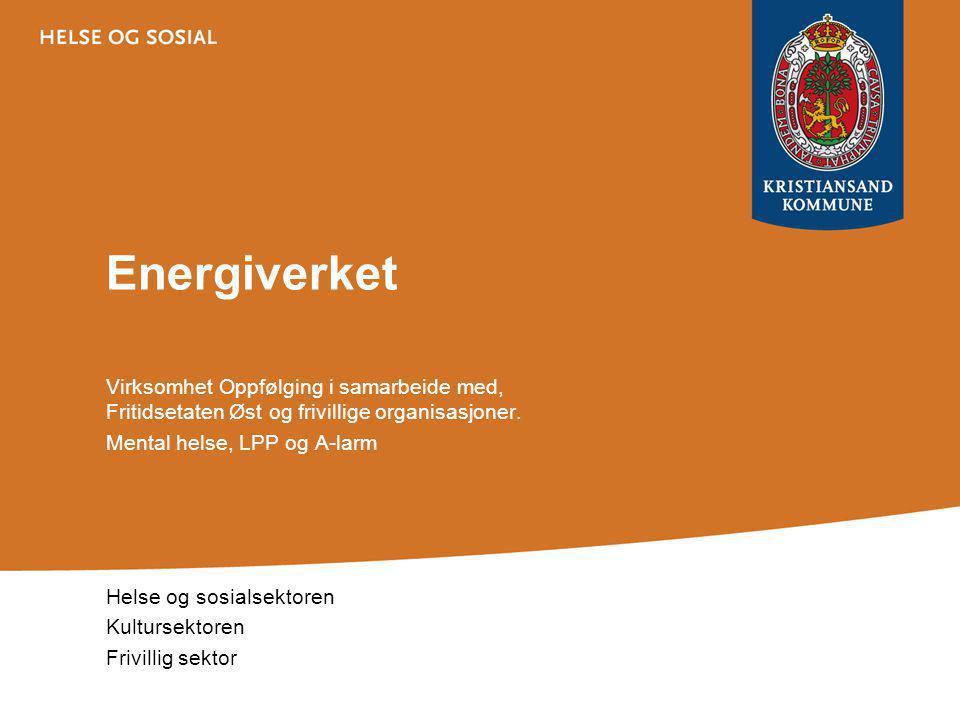 Energiverket Virksomhet Oppfølging i samarbeide med, Fritidsetaten Øst og frivillige organisasjoner.