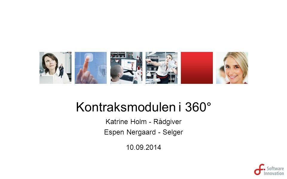 Kontraksmodulen i 360° Katrine Holm - Rådgiver Espen Nergaard - Selger