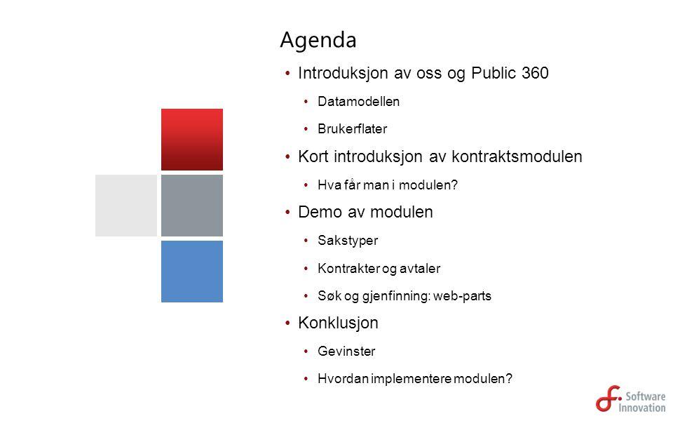 Agenda Introduksjon av oss og Public 360