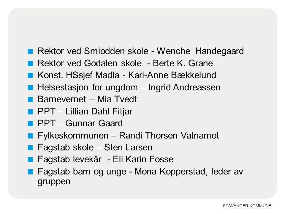 Rektor ved Smiodden skole - Wenche Handegaard