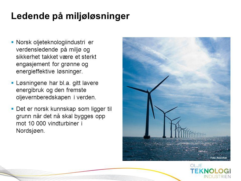 Ledende på miljøløsninger