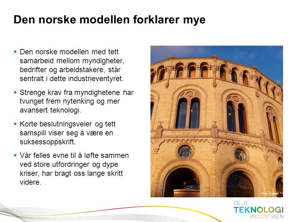 Den norske modellen forklarer mye