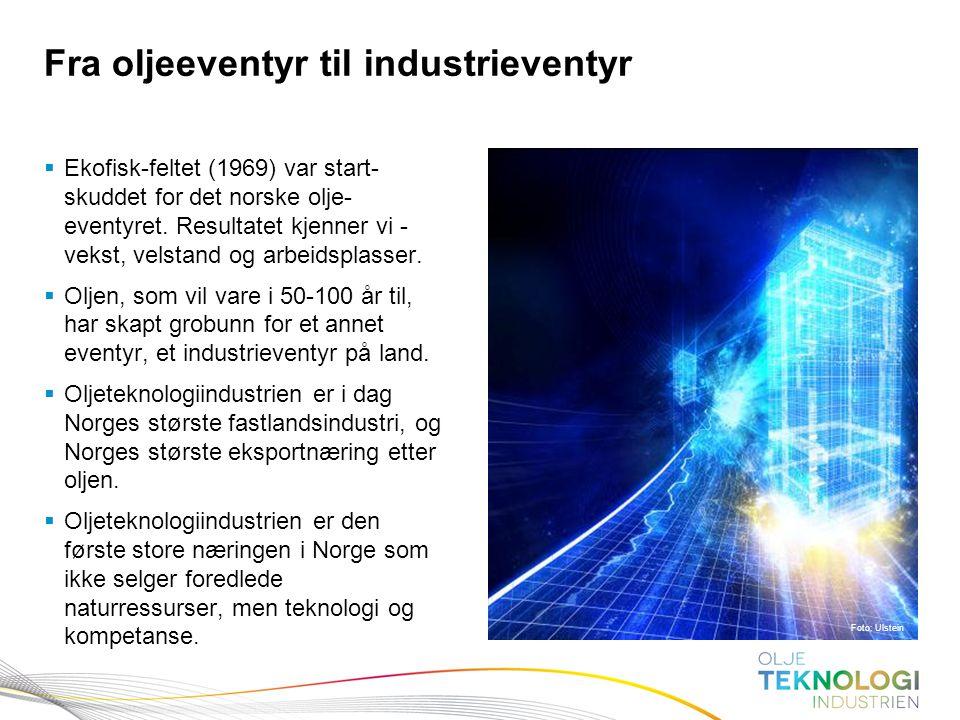 Fra oljeeventyr til industrieventyr