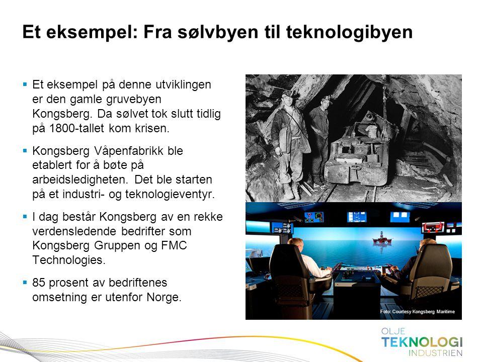 Et eksempel: Fra sølvbyen til teknologibyen