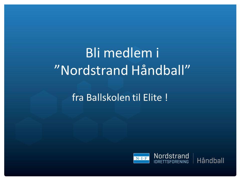 Bli medlem i Nordstrand Håndball