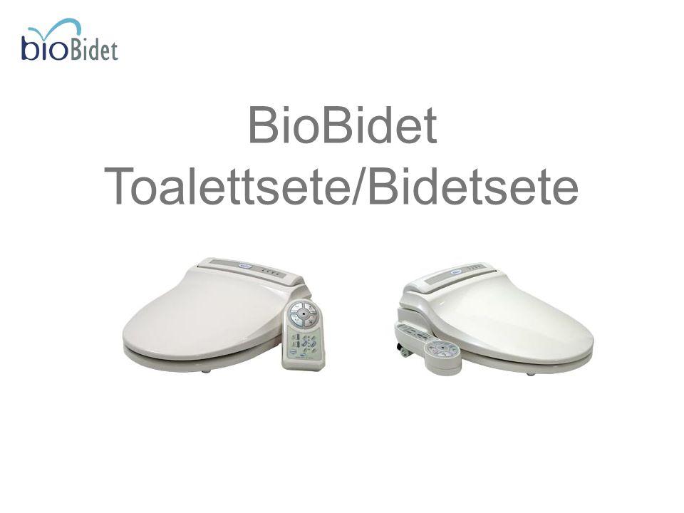Toalettsete/Bidetsete
