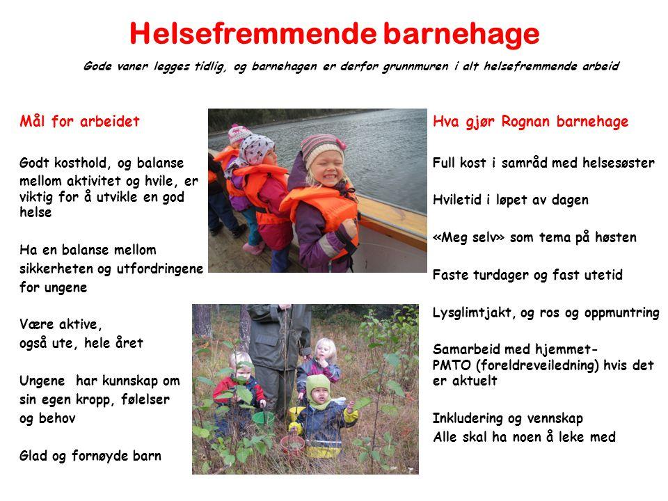 Helsefremmende barnehage