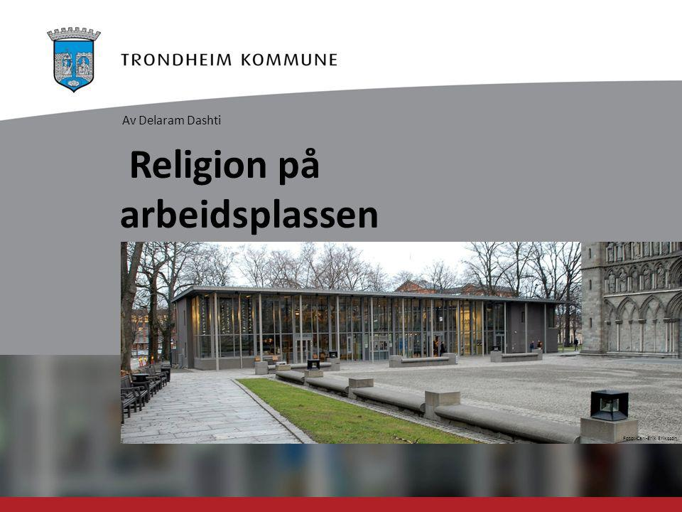 Religion på arbeidsplassen