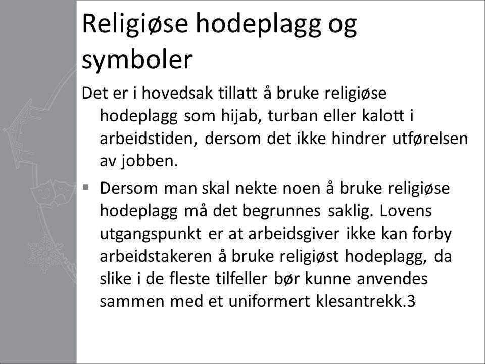 Religiøse hodeplagg og symboler
