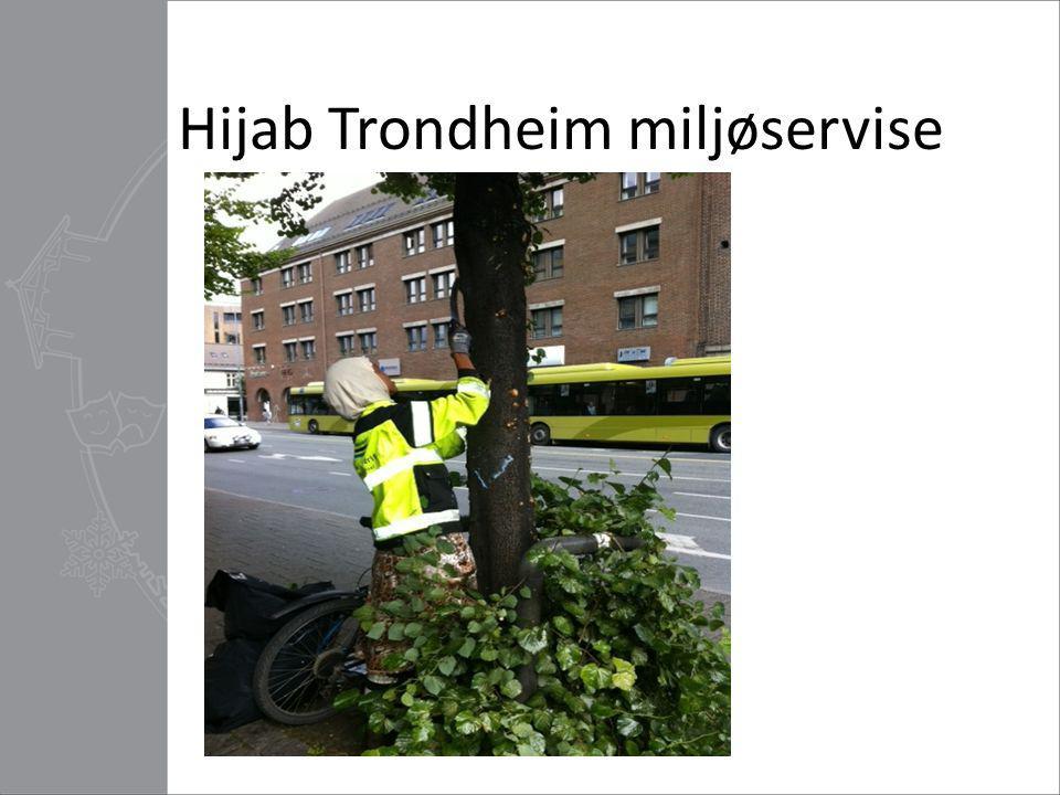 Hijab Trondheim miljøservise