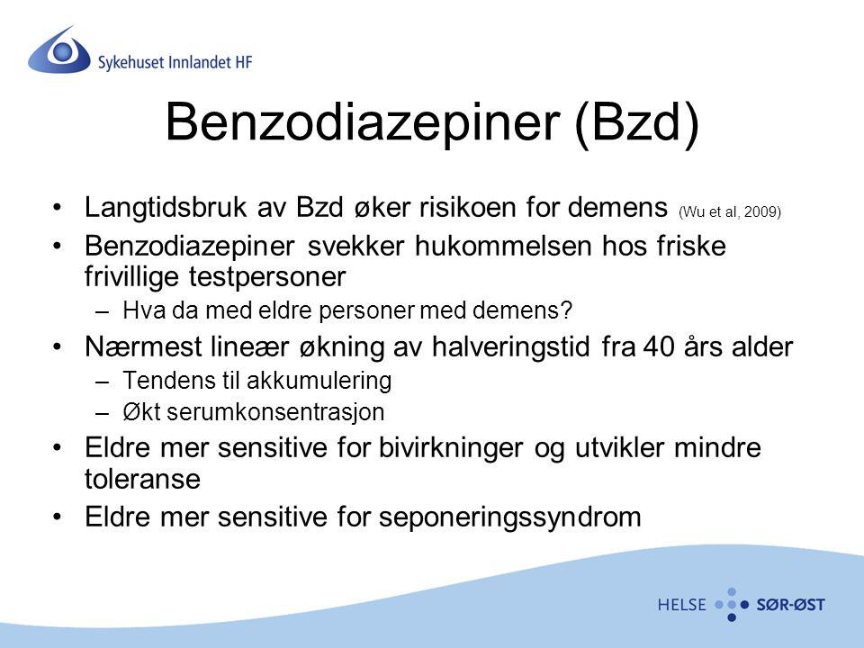 Benzodiazepiner (Bzd)