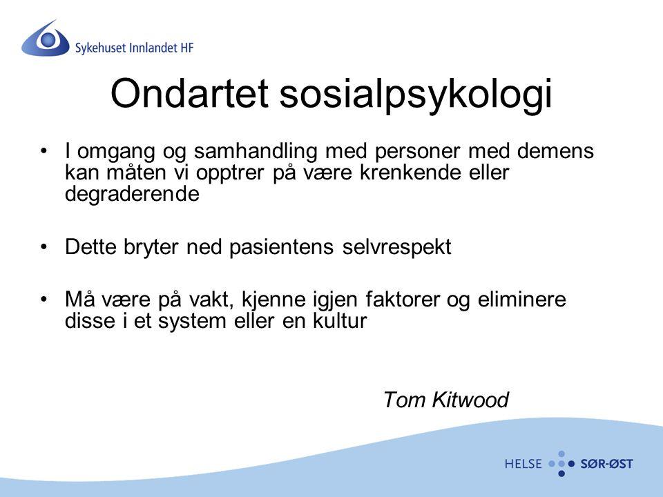 Ondartet sosialpsykologi