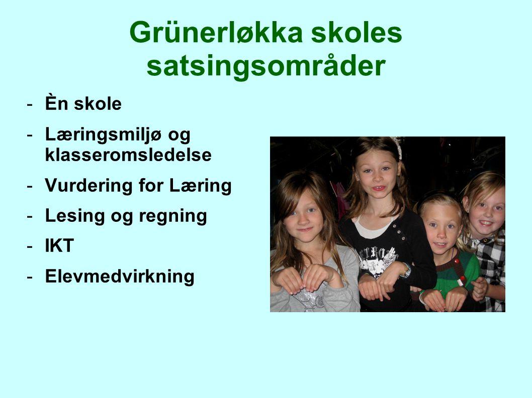 Grünerløkka skoles satsingsområder