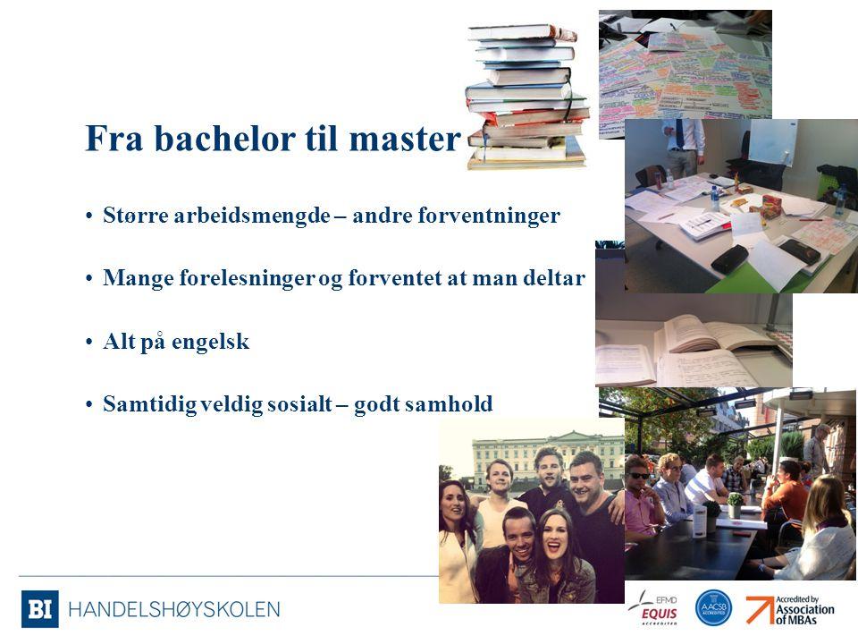 Fra bachelor til master