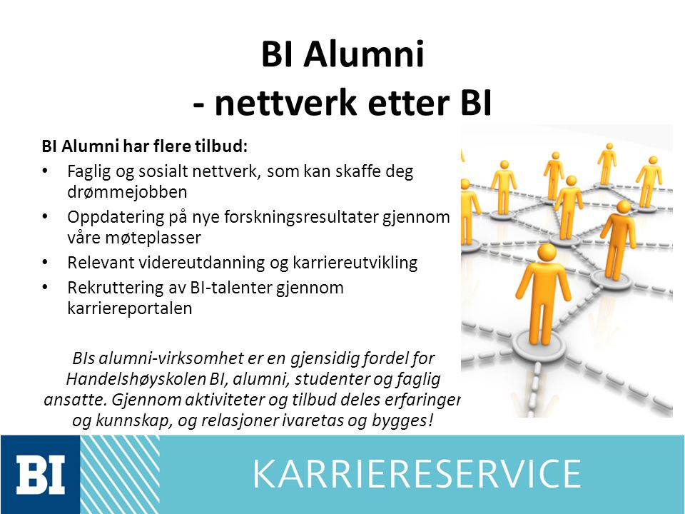 BI Alumni - nettverk etter BI