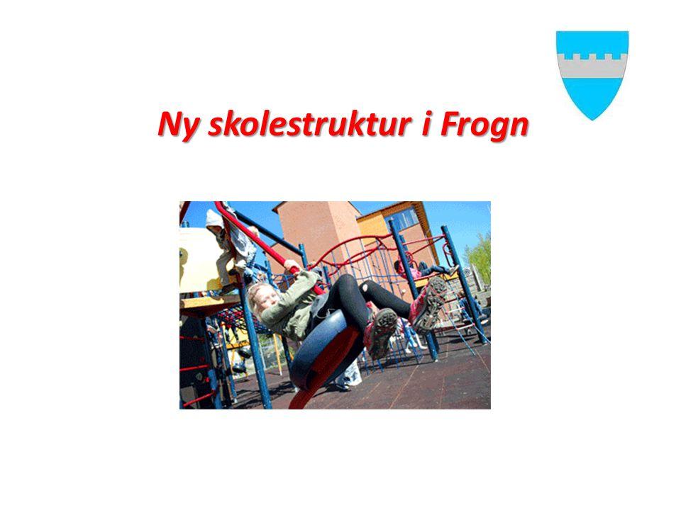 Ny skolestruktur i Frogn