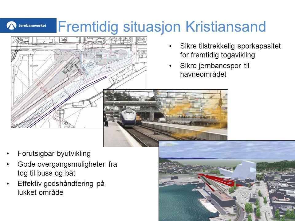 Fremtidig situasjon Kristiansand