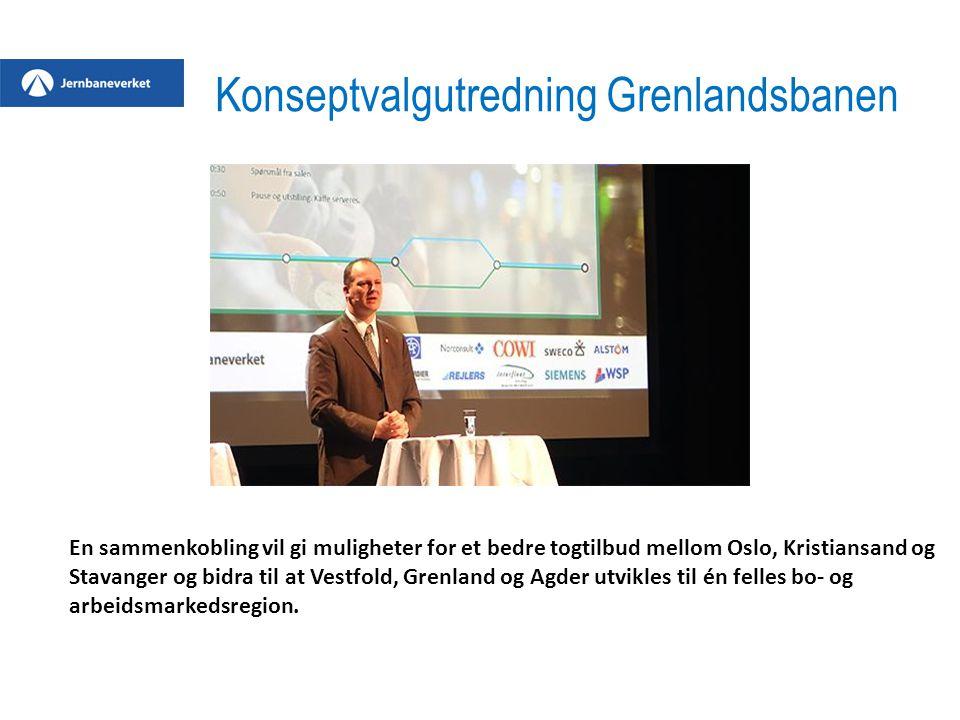 Konseptvalgutredning Grenlandsbanen