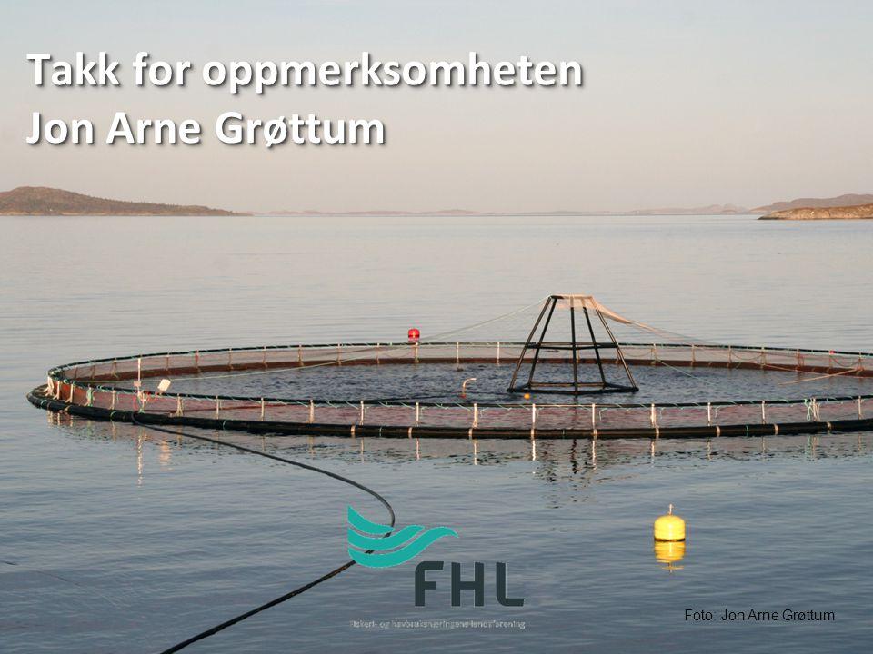 Takk for oppmerksomheten Jon Arne Grøttum