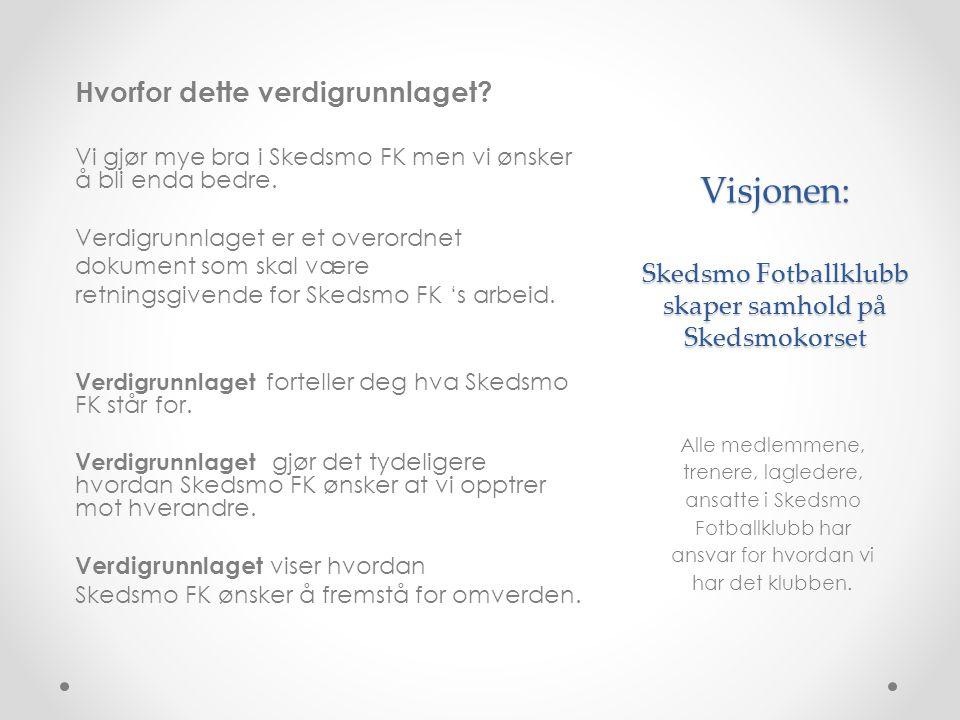 Visjonen: Skedsmo Fotballklubb skaper samhold på Skedsmokorset