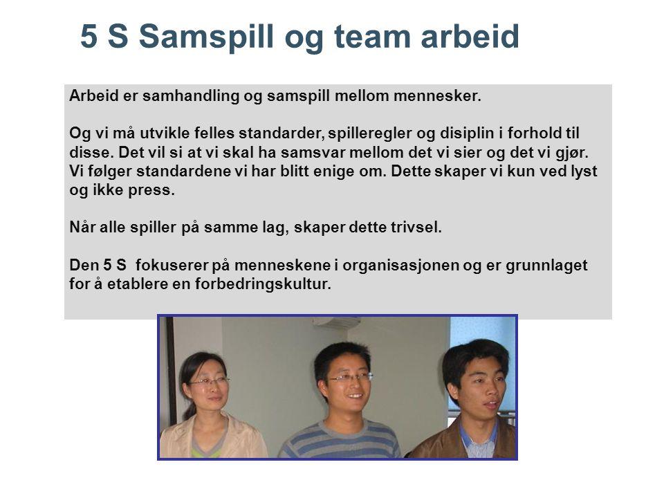5 S Samspill og team arbeid