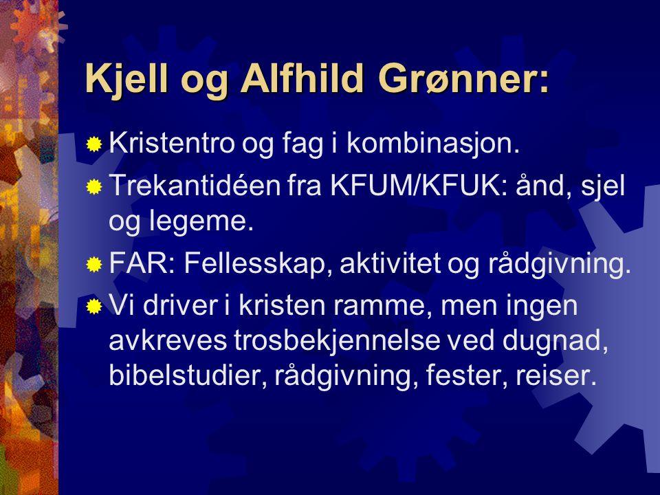 Kjell og Alfhild Grønner:
