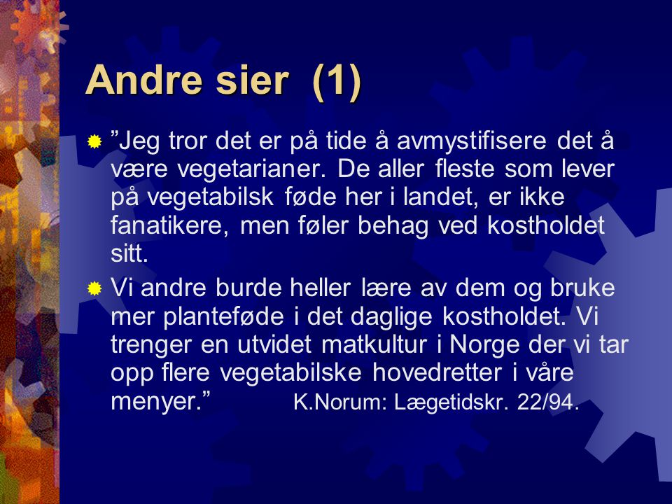 Andre sier (1)