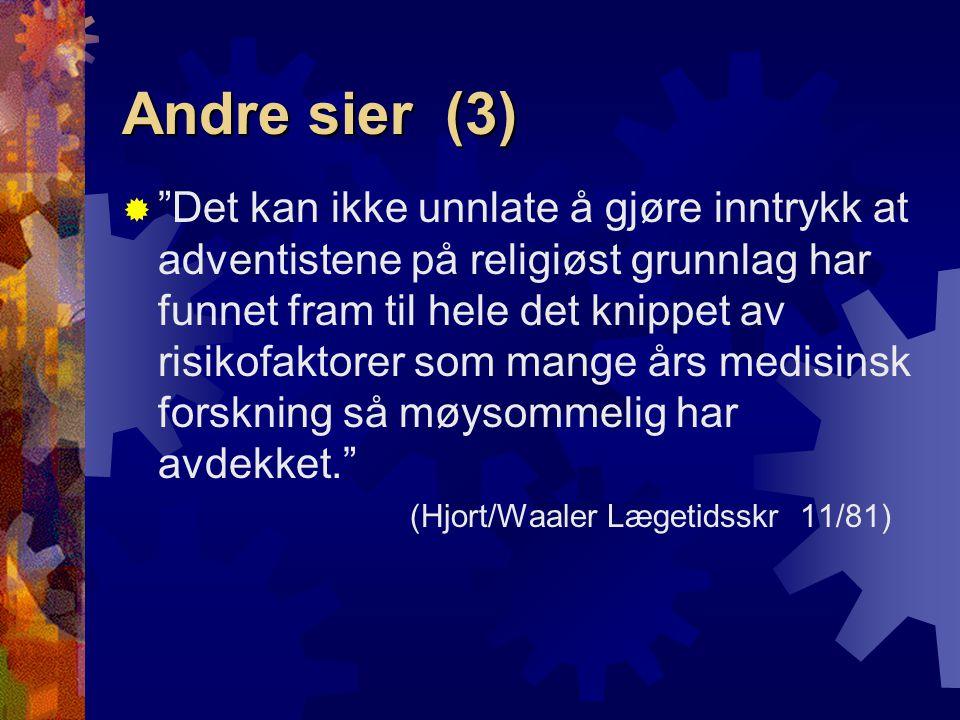 Andre sier (3)