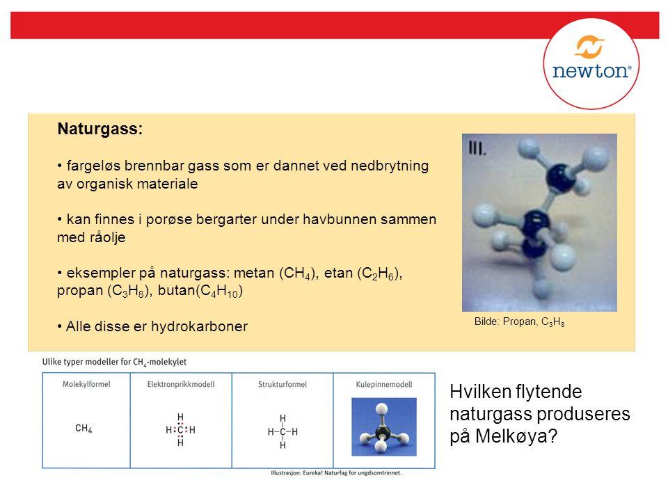 Hvilken flytende naturgass produseres på Melkøya