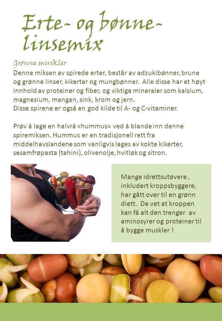 Erte- og bønne-linsemix