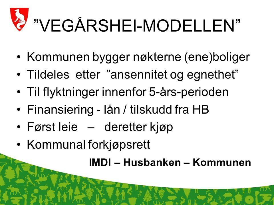 VEGÅRSHEI-MODELLEN