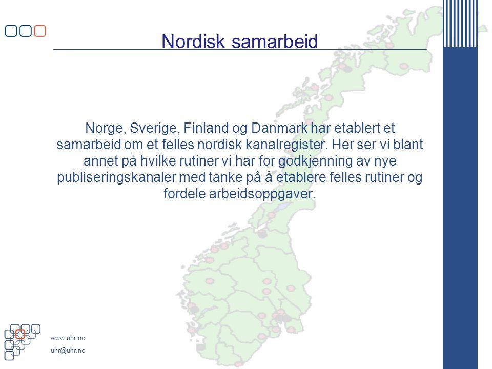 Nordisk samarbeid