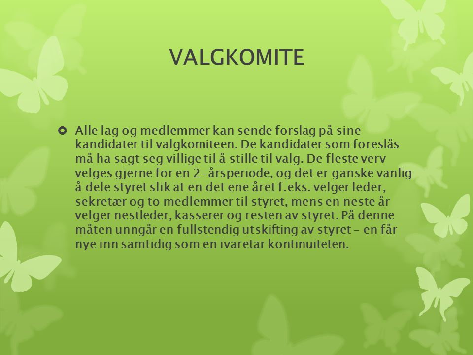 VALGKOMITE