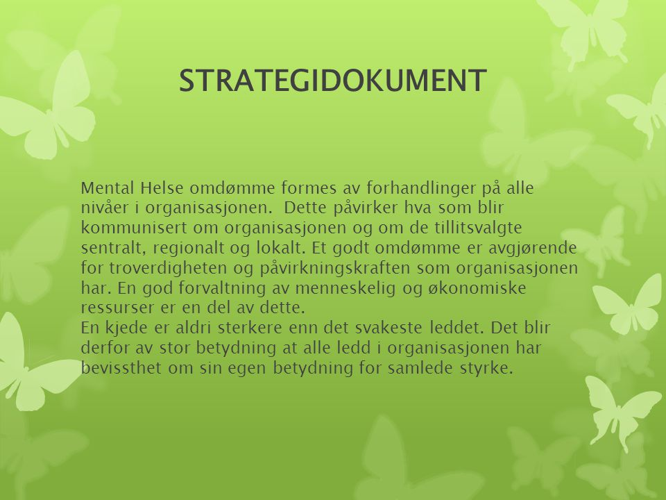 STRATEGIDOKUMENT