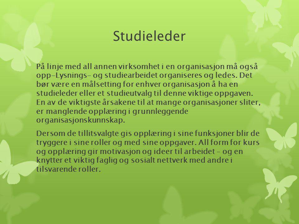 Studieleder