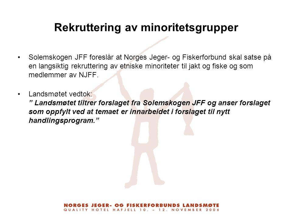 Rekruttering av minoritetsgrupper