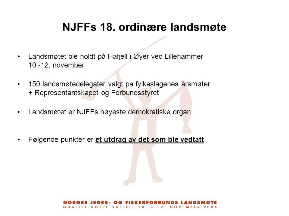 NJFFs 18. ordinære landsmøte