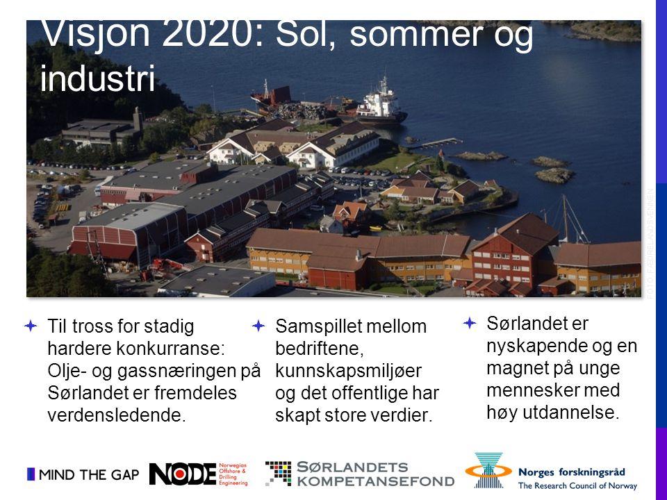 Visjon 2020: Sol, sommer og industri