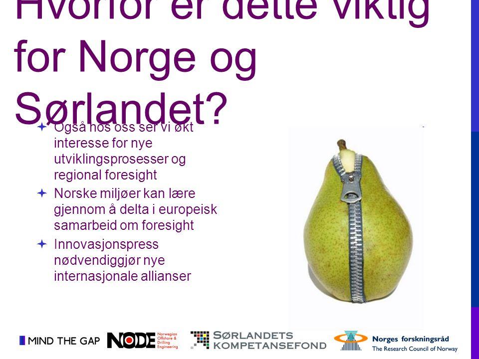 Hvorfor er dette viktig for Norge og Sørlandet