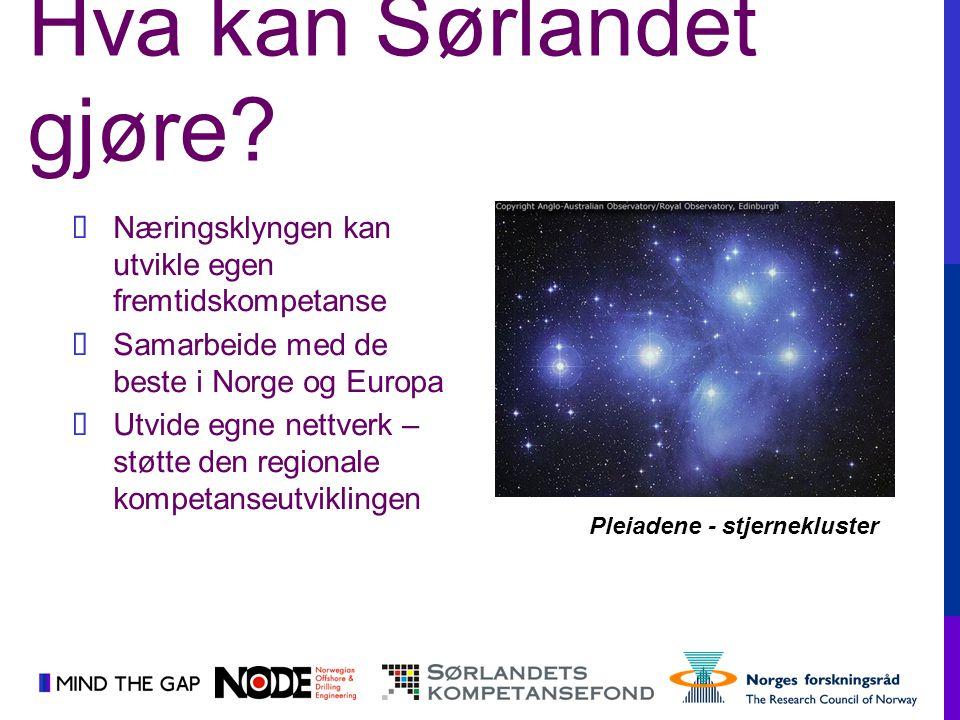 Pleiadene - stjernekluster