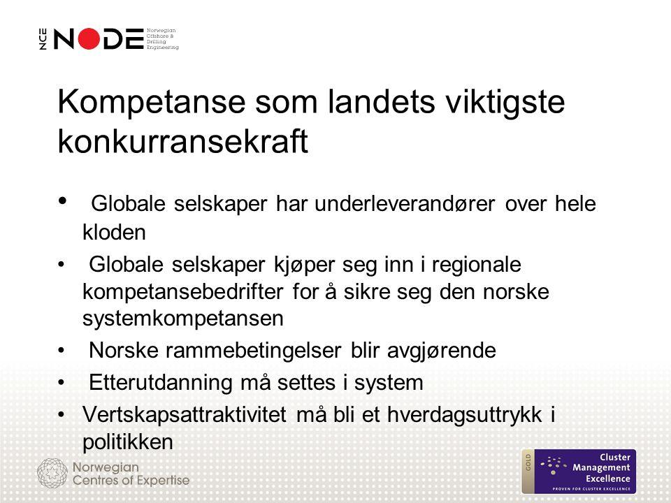 Kompetanse som landets viktigste konkurransekraft