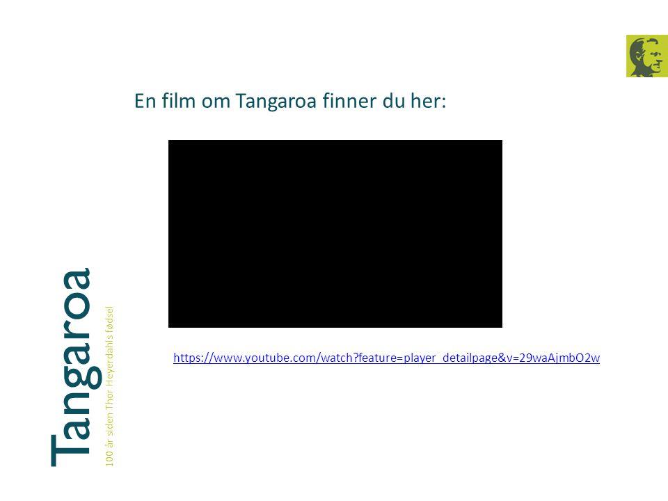 Tangaroa En film om Tangaroa finner du her: